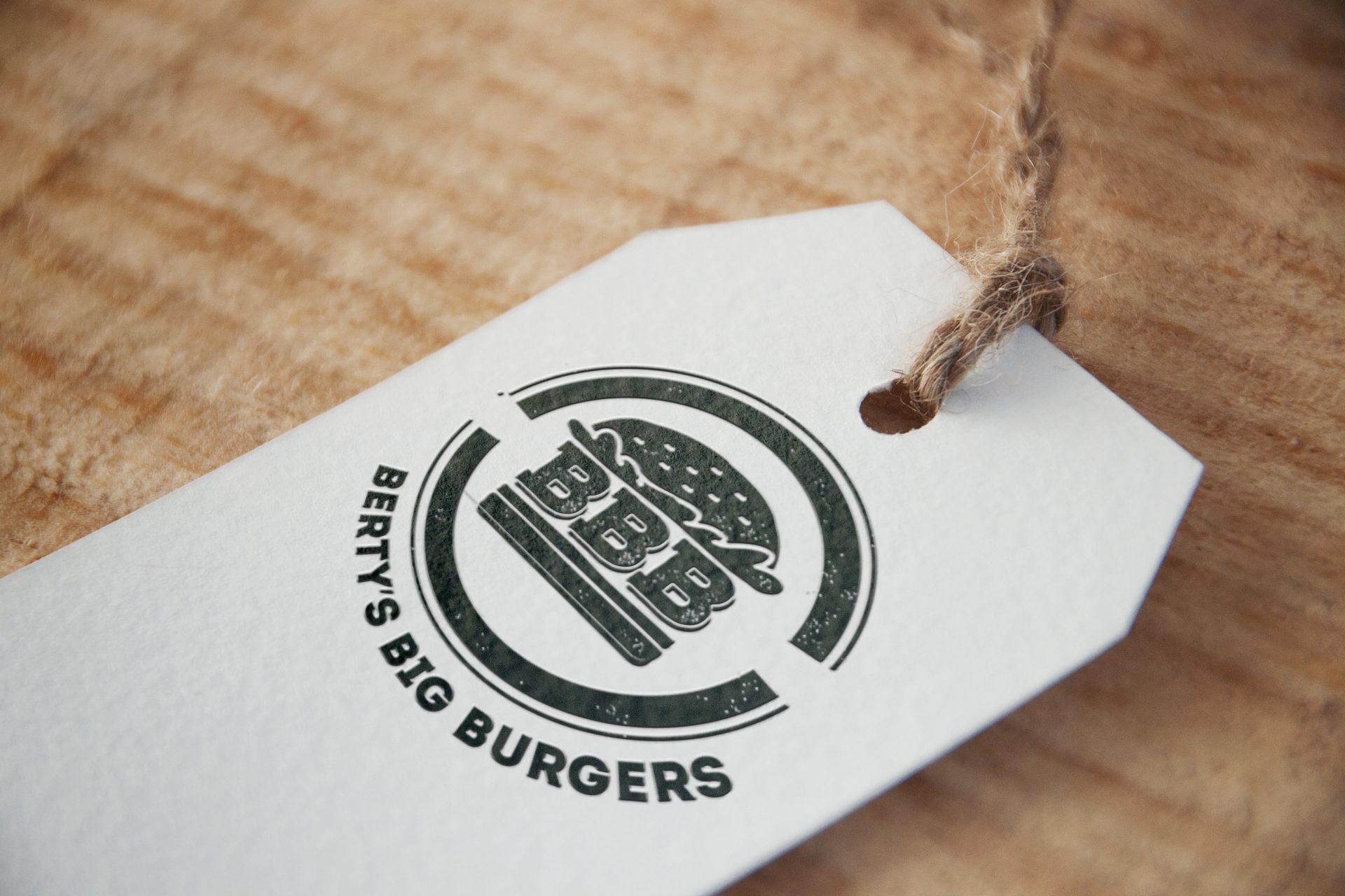 Logo Berty's Big Burger