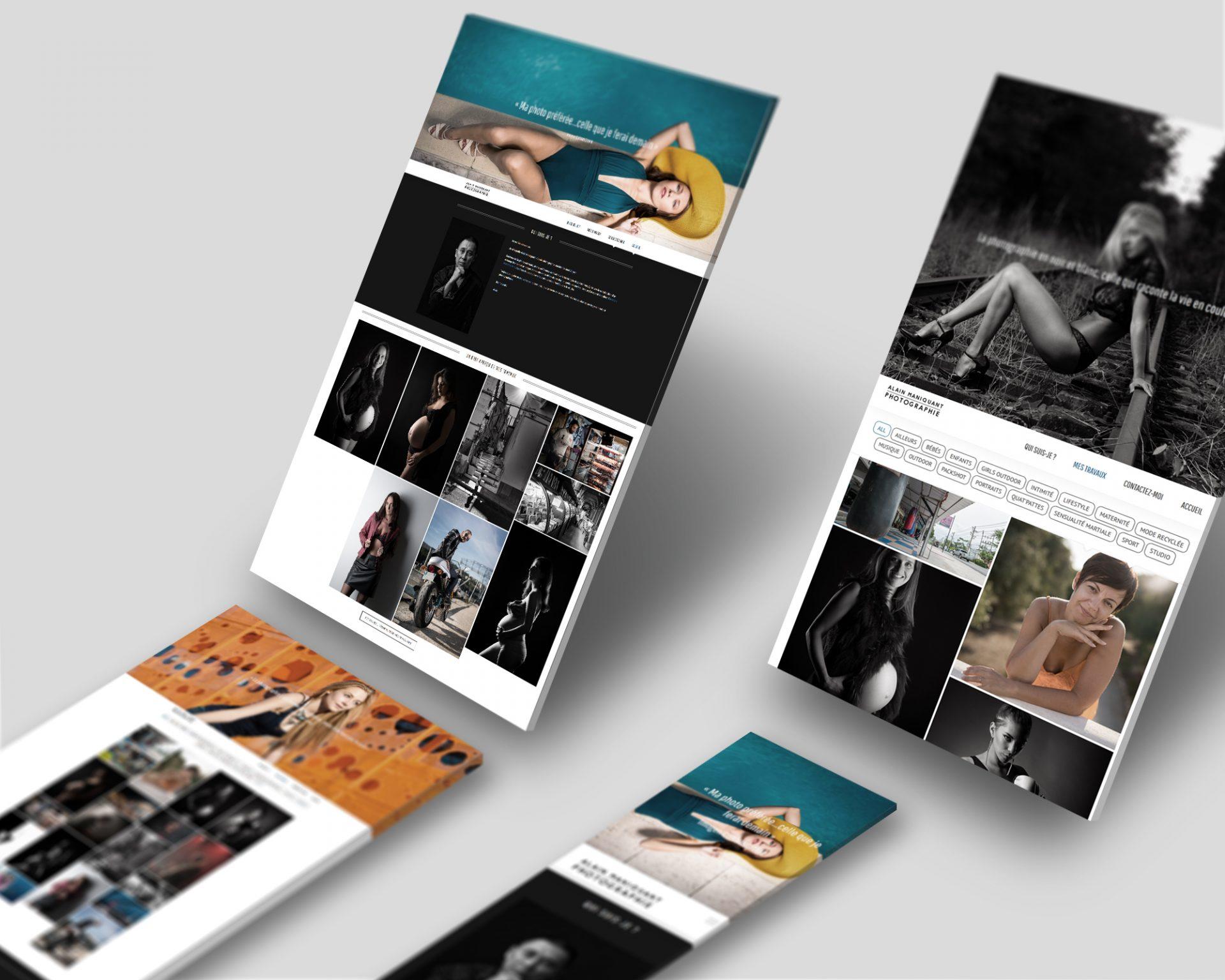 Un site web pour Alain Maniquant Photographie
