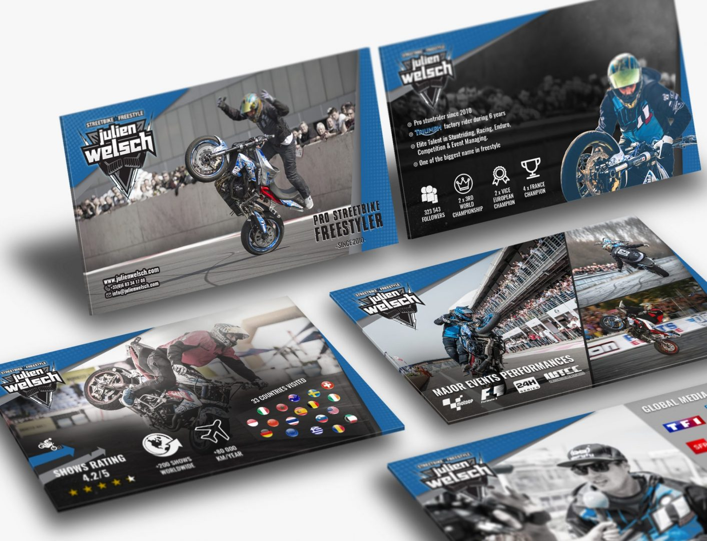 Dossier Sponsoring pour Julien Welsch Sportif Professionnel et Stuntrider à moto