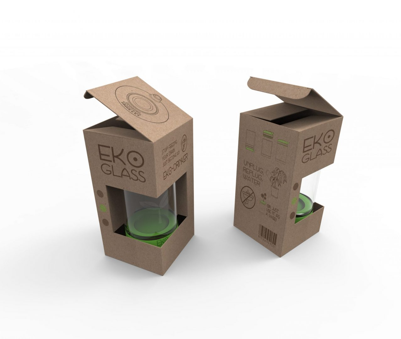 Eko Glass packaging
