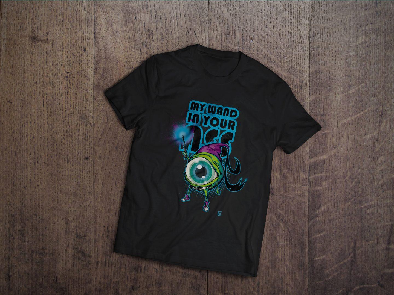 T- shirt Monstre Oeil Magicien