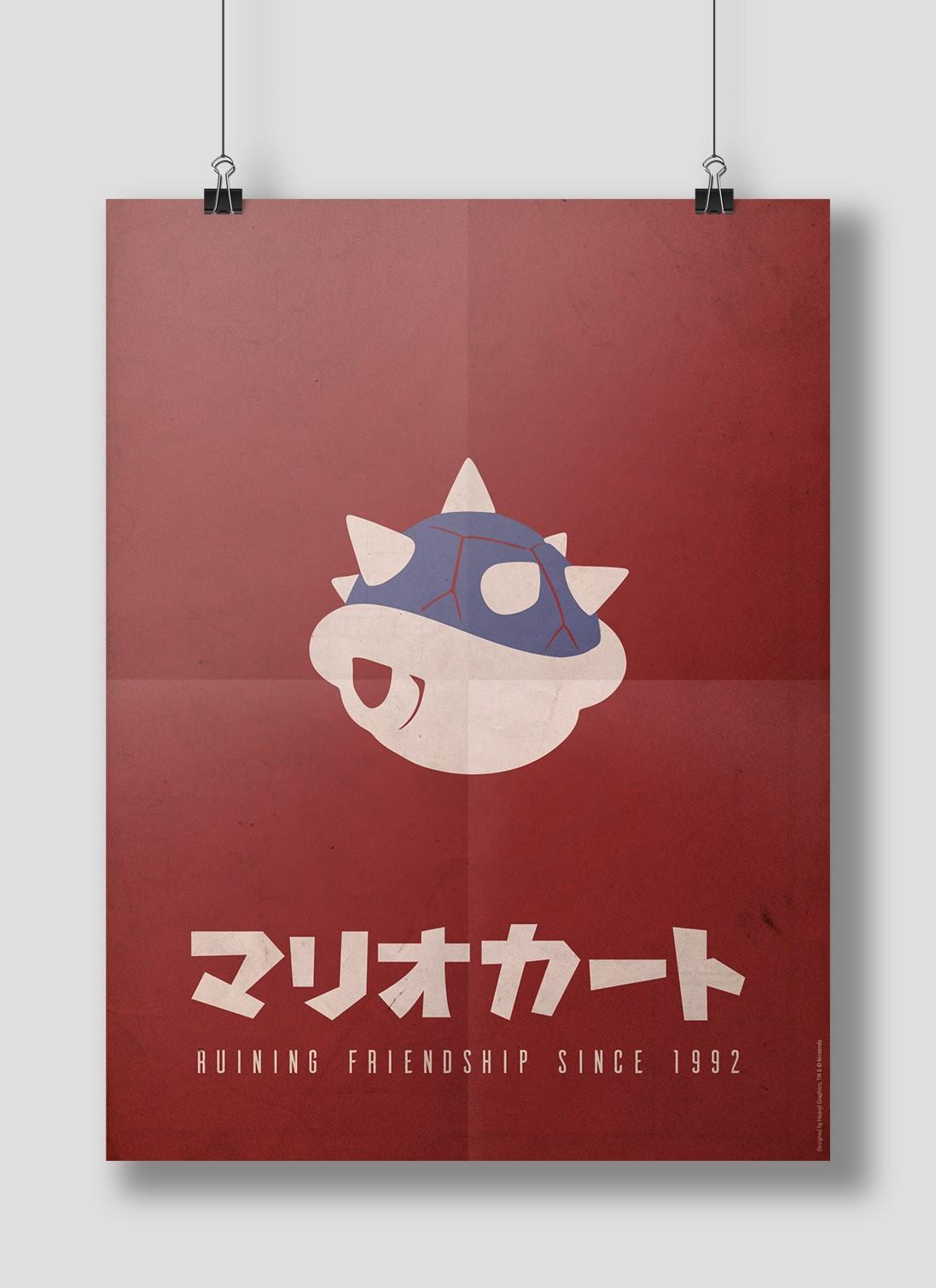 Mario Kart Poster 3