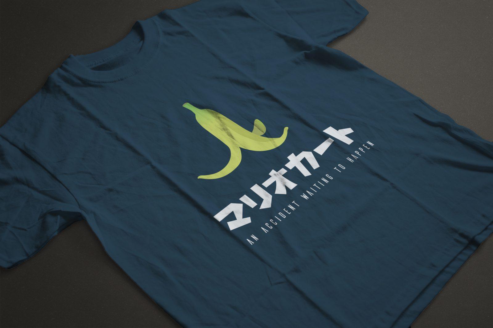 t-shirt mario kart