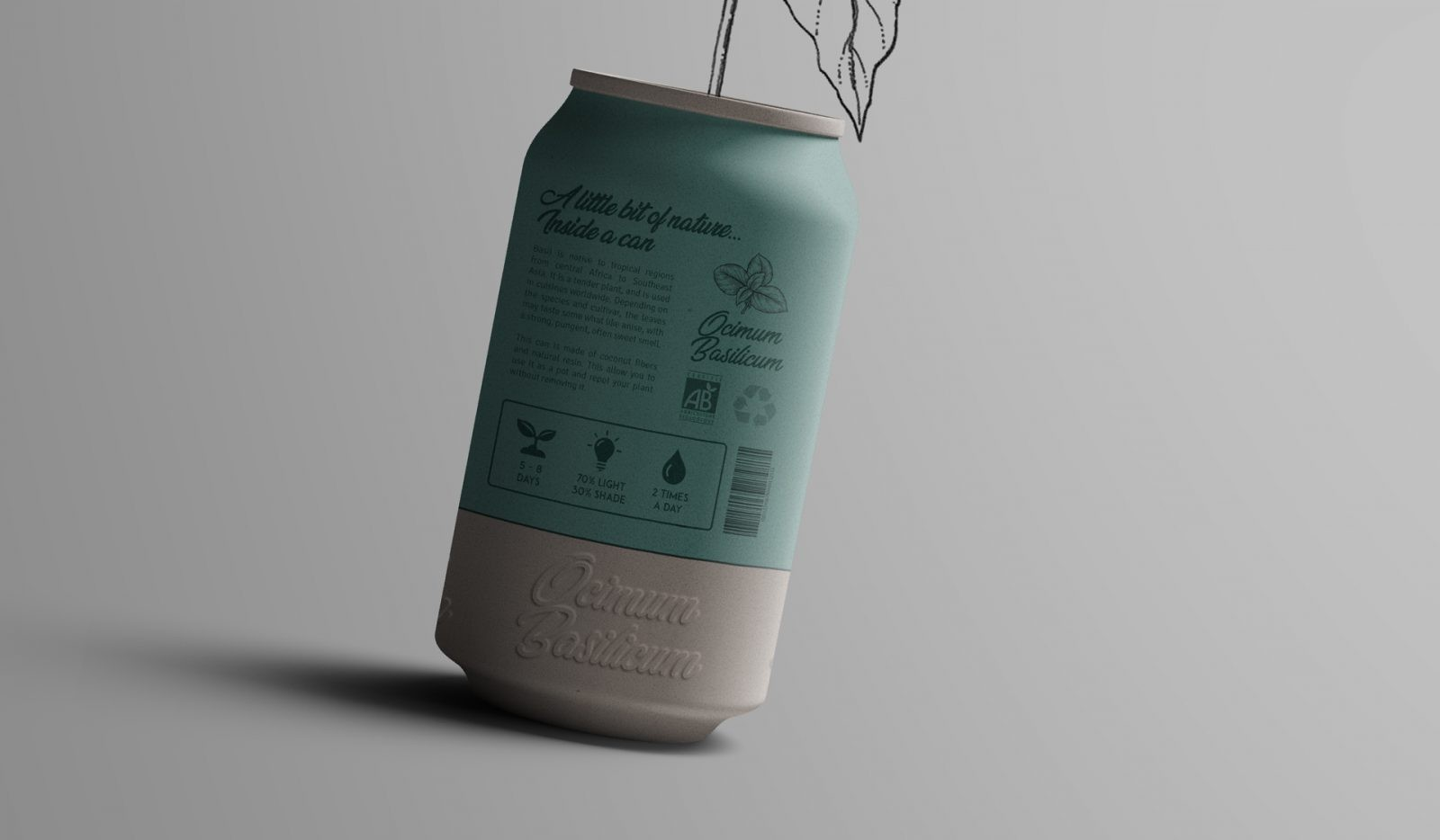 Canature - Design Packaging Plante bio écoresponsable