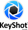 Logo 3d Keyshot