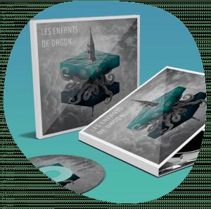 Design graphique, direction artistique et création de pochette CD